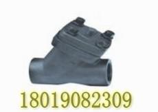 H11W-40C碳钢Y型止回阀 弹簧升降式碳钢逆止阀