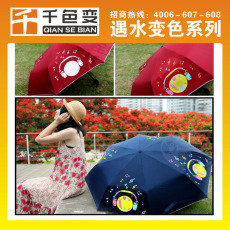 福建变色雨伞专用遇水透明油墨