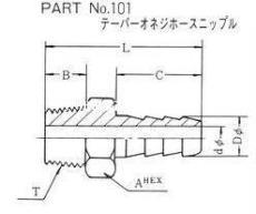 日本富士高壓 FUJI KOATSU 接頭PART N0.101 102 103 104 105
