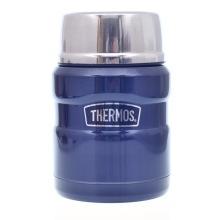 THERMOS膳魔師 470ml不銹鋼粥桶燜燒杯保溫罐SK-3000 MB