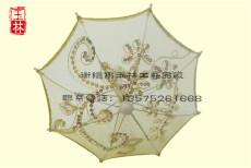 黄色蕾丝伞