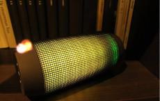 音乐脉动 无线蓝牙音箱 NFC炫彩灯光苹果音响便携低音炮