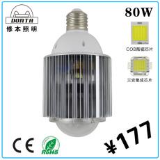 厂家直销高性价比超高亮度 LED球泡灯 80W
