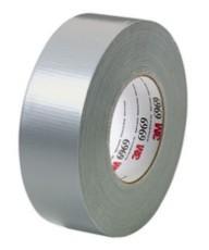 华莱 3M6969 灰色布基胶带72mm*54.8m 单面胶 不残胶 进口 耐高温