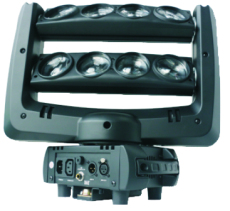 LED8顆10W雙排搖頭蜘蛛燈