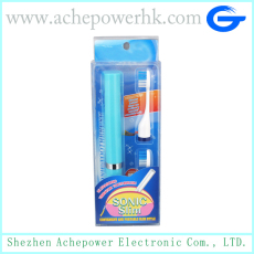 Electric toothbrush with protection cap
