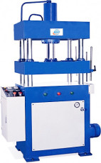 Vertical four column cutting machine