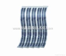 恒鑫2015熱銷產品可定制140w單晶柔性電池板