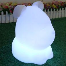 LED dog shaped decorative lamp / table light