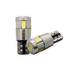 DC12V T10 5730 6 SMD LED Super Bright Car Tail Light