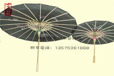 大小号绸布伞对比 手工制工艺伞