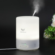 Vividay 300ml Aromatherapy Essential Oil Diffuser Ultrasonic Aroma Humidifier -Warm White