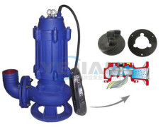 WQK带切割装置潜水排污泵