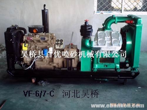 吴桥空压机 柴油机压缩机 柴动空压机图片