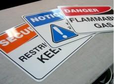 pvc警告標牌