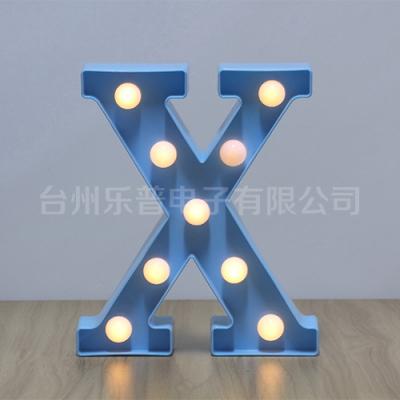 塑料字母LED灯饰