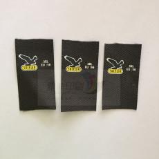 辅料工厂定做尺码标 尺码唛头批发价格 水洗唛等丝带布标印唛印刷厂