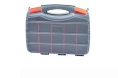 手提工具盒/手提分格塑料盒/手提零件盒