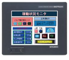 成都三菱人机界面GT1575-VTBA/GT1050-QBBD-