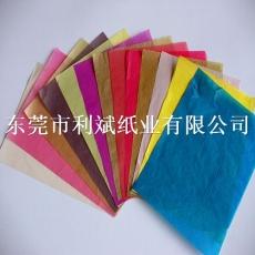 镇江供应24克彩色棉纸/礼品包装纸
