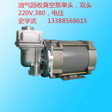 Oil and gas recovery vacuum pump