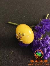 天然波罗的海蜜蜡戒指 特价