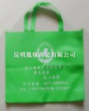 印字的昆明环保平口袋广告背心袋