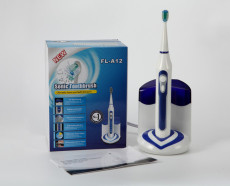Sonic toothbrush with UV sanitizer FL-A12