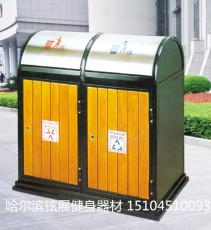 园林环卫垃圾箱-户外自动翻盖环卫垃圾箱