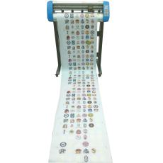 刻豹刻字机KA750A 自动定位自动寻边分段扫描巡边切割