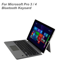 New Bluetooth Keybaord Case For Microsoft Surface Pro 3 / 4 With Touchpad
