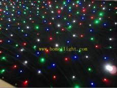 LED RGBW星空幕布 YY直播DJ打碟背景墻舞臺背景布