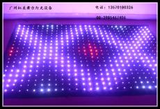 直播背景LED幕布虹美厂家直销供应RGB视频幕布