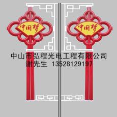 扇形异型中国结灯