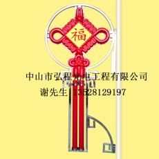 2號福字明月型中國結燈