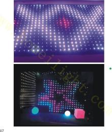 P10CM LED全彩视频布DJ酒吧动态背景婚庆舞台幕布