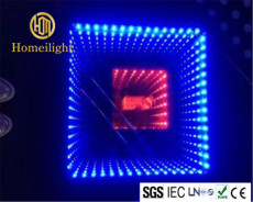 3D Mirror Abyss Dancing Panel LED Dance Floor Starlit Dance Floor
