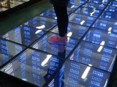 Disco Party Entertainment 50X50cm Mirror Abyss Effect DMX 3D LED Dance Floor