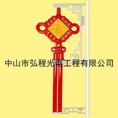 中单耳福字中国结灯
