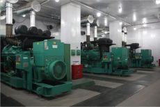 发电机机房降噪尾气处理工程