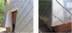 平锁扣瓦片幕墙系统铝镁锰板