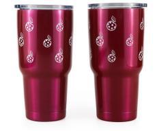 酷迪20/30oz双层不锈钢304保温咖啡杯旅行杯 汽车杯 大型不锈钢器皿生产厂家