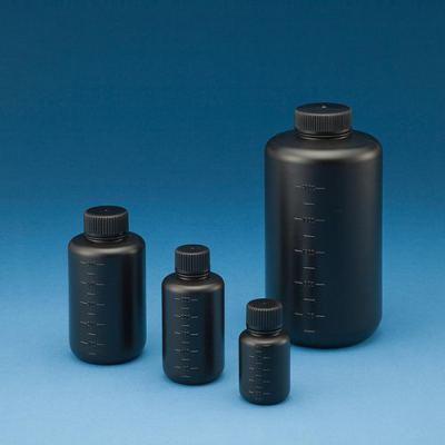HDPE小口试剂瓶细口黑色遮光防漏溶济瓶