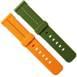 038-24mm硅胶平头表带