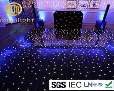LED starlit dance floor tile floor for wedding party