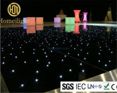 Acrylic Twinkling Panels LED Starlit Dance Floor for Wedding Party Light
