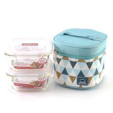 乐扣乐扣耐热玻璃保鲜盒LLG214S904两件500ML套装