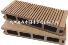 西安塑木型材 陕西塑木地板 鑫森木塑木生产厂家