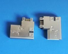 满功能16/14P type C USB侧插母座 DIP 3.1U
