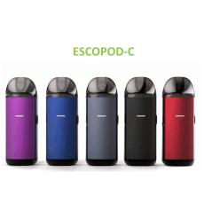 ESCOpod vape colored vaping device refillable pod system CBD cartridge vaping devic